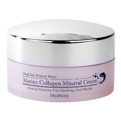 Крем с морским коллагеном и EGF DEOPROCE Marine collagen mineral cream 100г: фото