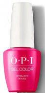 Гель для ногтей OPI GelColor Toying with Trouble HPK09: фото