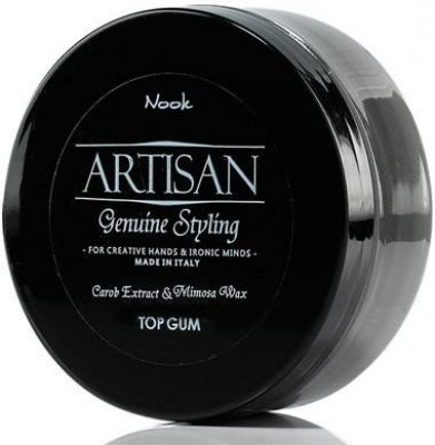 Воск волокнистый для укладки волос NOOK Artisan Top Gum Genius Styling 100 мл: фото