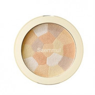 Хайлайтер минеральный THE SAEM Saemmul Luminous Multi Highlighter 02. Gold Beige 8гр: фото