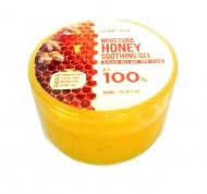 Многофункциональный гель с мёдом LEBELAGE Moisture Honey Purity 100% Soothing Gel 300мл: фото