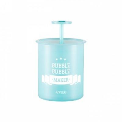 Стакан-помпа для создания пышной пены A'PIEU Bubble Bubble Maker Mint: фото