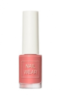 Лак для ногтей THE SAEM Nail wear 95. Dusty Coral 7мл: фото