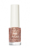Лак для ногтей THE SAEM Nail wear 100. Coral Universe 7мл: фото