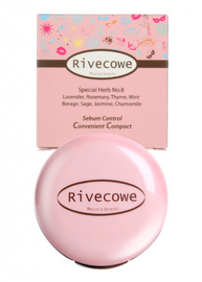 Пудра для лица RIVECOWE Beyond Beauty Sebum Control Convenient Compact 9г: фото
