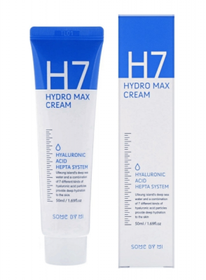 Крем для лица с гиалуроновой кислотой SOME BY MI H7 HYDRO MAX CREAM 50мл: фото