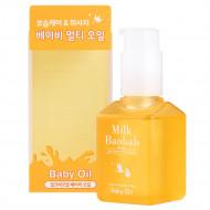 Детское масло для лица и тела Milk Baobab Baby Oil 100мл: фото