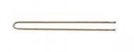 Шпильки прямые Sibel 4,5см бронзовые 50шт: фото
