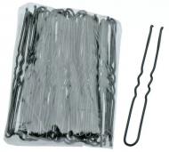 Шпильки волнистые Sibel 45мм черные 50шт: фото