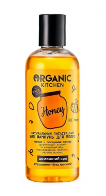 """Шампунь для волос питательный Organic Kitchen """"Bee happy"""" 270мл: фото"""